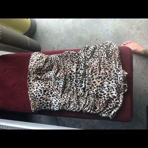 Leopard one piece bathing suit